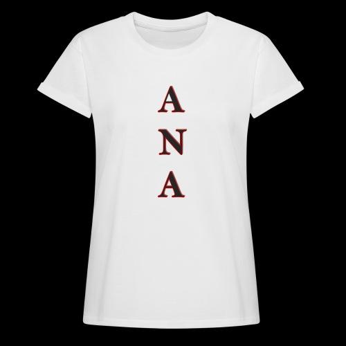 ANA - Camiseta holgada de mujer