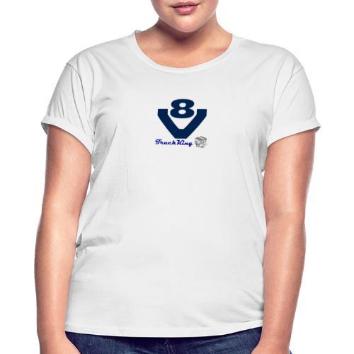 V8 - Camiseta holgada de mujer