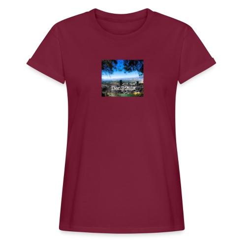 Denstella - Dame oversize T-shirt