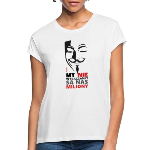 Są Nas MILIONY - kolejny motyw Akademia Wywiadu™ - Koszulka damska oversize