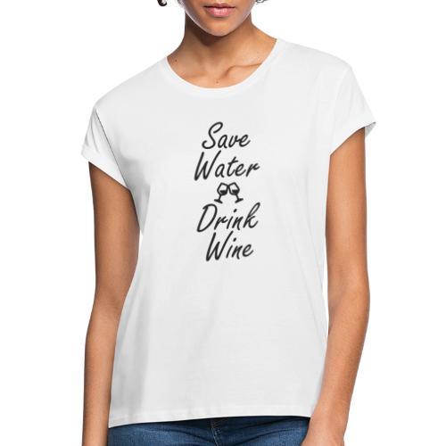 savewater - Frauen Oversize T-Shirt