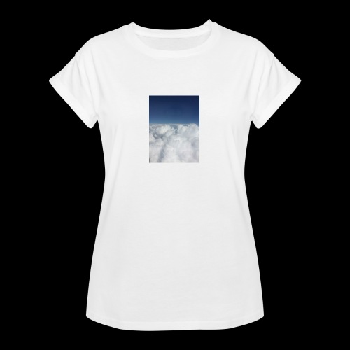 clouds - Vrouwen oversize T-shirt