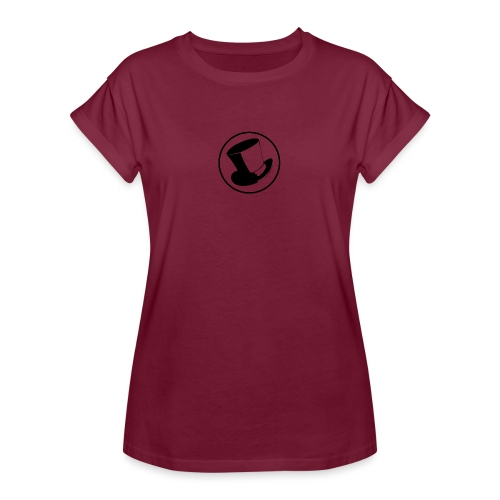 GLASS HAT - Camiseta holgada de mujer