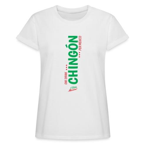 One Drink - Camiseta holgada de mujer