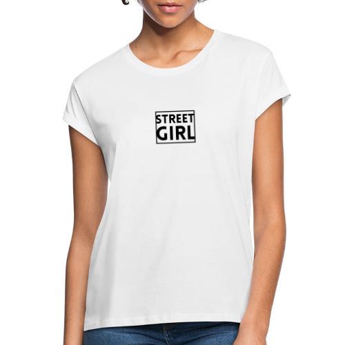 girl - T-shirt oversize Femme