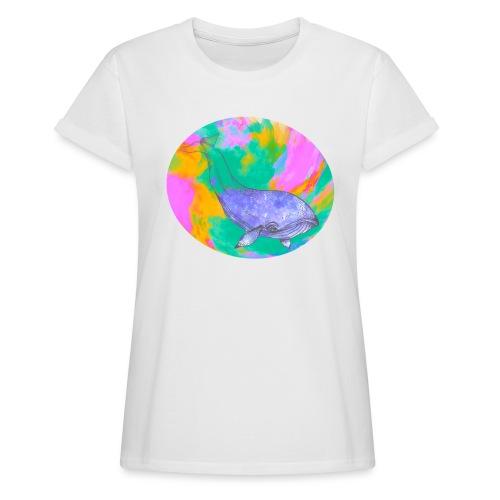 Whale - Oversize-T-shirt dam