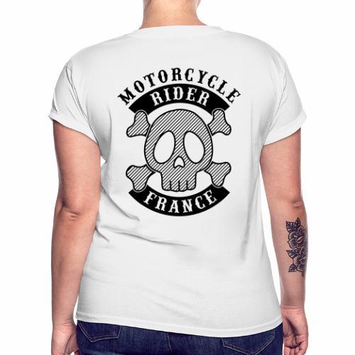 Motorcycle Rider France - T-shirt oversize Femme