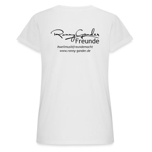 Ronny Gander Freunde - Frauen Oversize T-Shirt