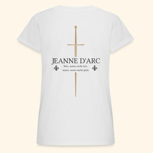 Jeanne d arc dark - Frauen Oversize T-Shirt