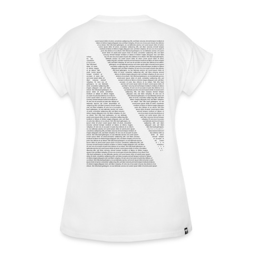 Lorem Ipsum - Frauen Oversize T-Shirt