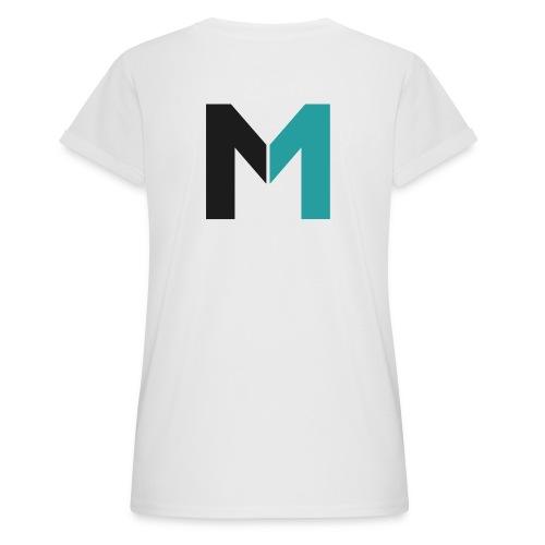 Logo M - Frauen Oversize T-Shirt