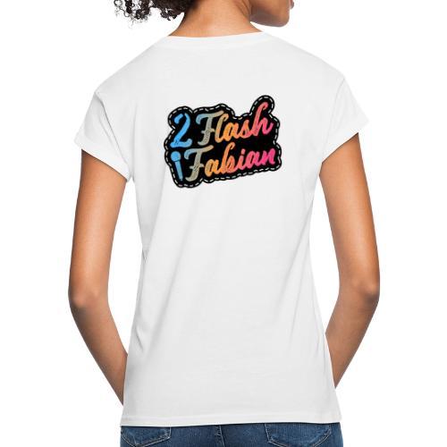 2Flash Fabian - Frauen Oversize T-Shirt