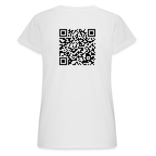 static qr code without logo2 png - Maglietta ampia da donna