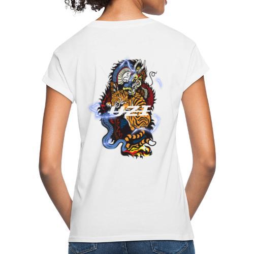 Tiger&DragonUzi - T-shirt oversize Femme