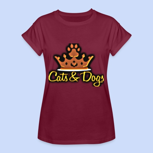 Official Cats&Dogs - Women's Oversize T-Shirt