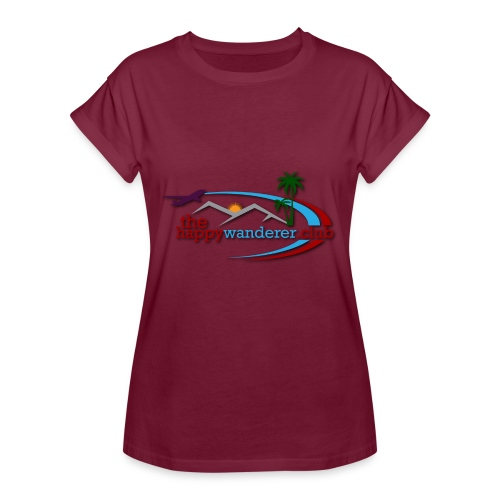 The Happy Wanderer Club - Women's Oversize T-Shirt