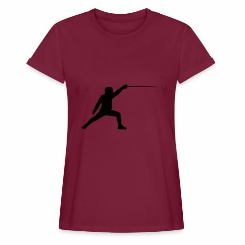 Fencer - Frauen Oversize T-Shirt