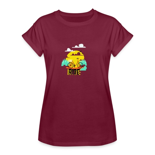 The Ride Tees - Women's Oversize T-Shirt