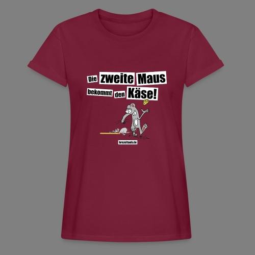 Die zweite Maus - Frauen Oversize T-Shirt