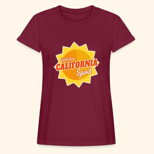 California Spirit Radioshow - T-shirt oversize Femme