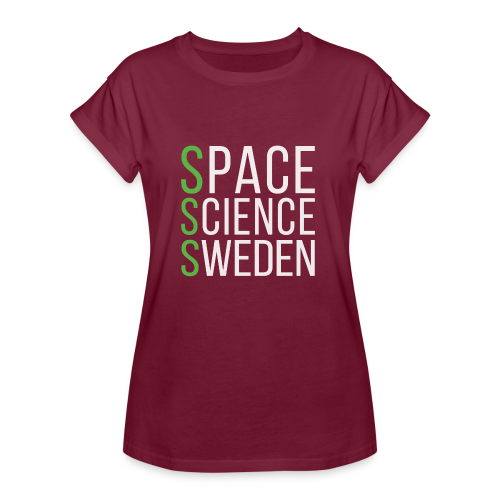Space Science Sweden - vit - Oversize-T-shirt dam