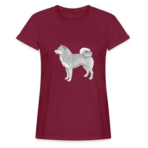 shiba inu - Dame oversize T-shirt