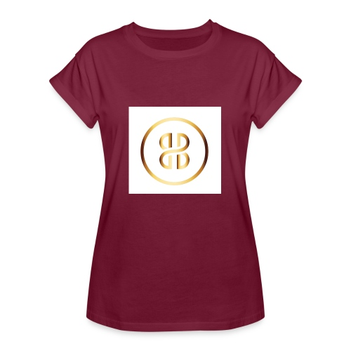 BKI logo circle - Women's Oversize T-Shirt