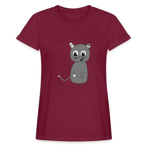 tee shirt lou3 - T-shirt oversize Femme