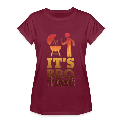 It's BBQ Time - Vrouwen oversize T-shirt