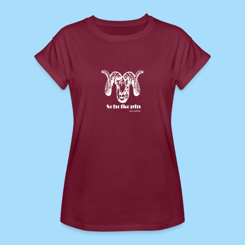 Schofkopfn - Frauen Oversize T-Shirt