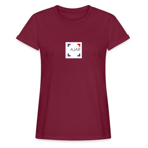 AJAR Logo - T-shirt oversize Femme