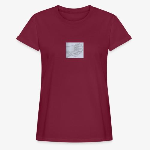 main dans la main - T-shirt oversize Femme