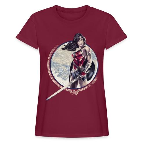 Wonder Woman Schwert Und Schild - Frauen Oversize T-Shirt