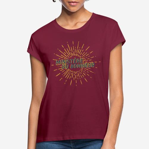 Ministère du Bonheur - T-shirt oversize Femme
