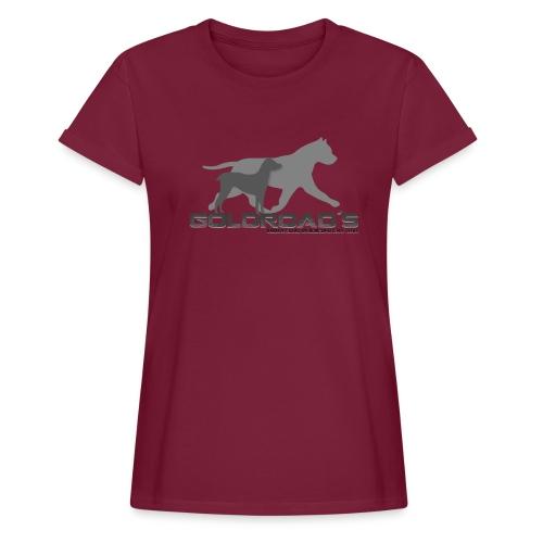 Goldroads - Oversize-T-shirt dam