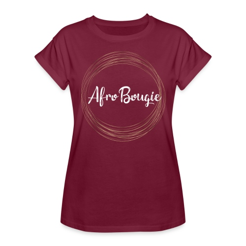 Afrobougie circle - Women's Oversize T-Shirt