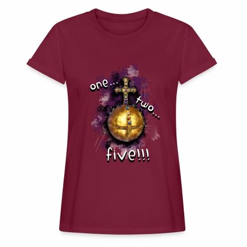 holy hand grenade of antioch - Camiseta holgada de mujer
