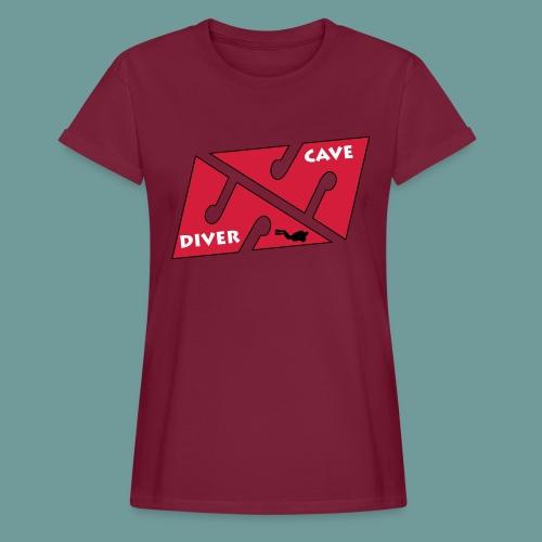 cave_diver_01 - T-shirt oversize Femme