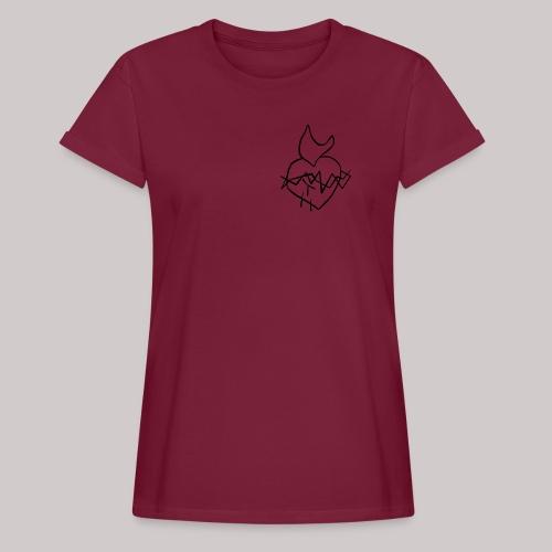 Sagrado Corazón de Jesús - Camiseta holgada de mujer