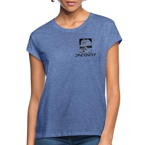 Discovery Logo Femme - T-shirt oversize Femme