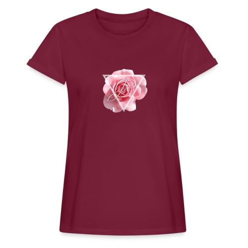 Rose Logo - Women's Oversize T-Shirt
