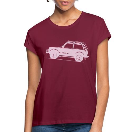 Lada Niva 2121 Russin 4x4 - Frauen Oversize T-Shirt