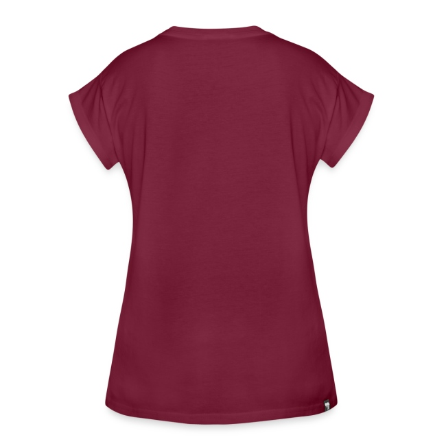 Vorschau: cat pocket - Frauen Oversize T-Shirt