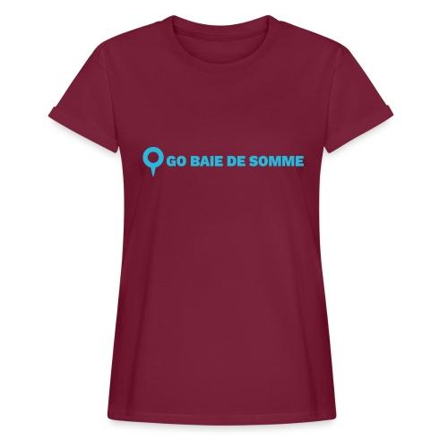 LOGO Go Baie de Somme - T-shirt oversize Femme