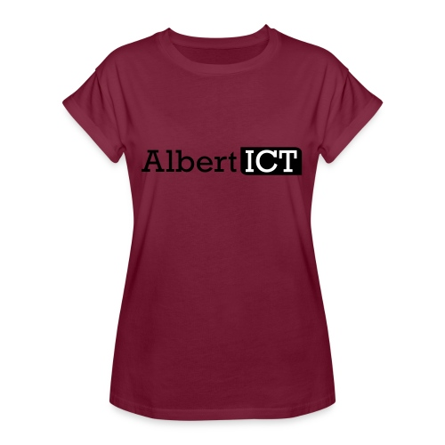 Logo_AlbertICT - Vrouwen oversize T-shirt