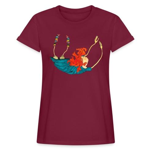 Frit fald - Dame oversize T-shirt