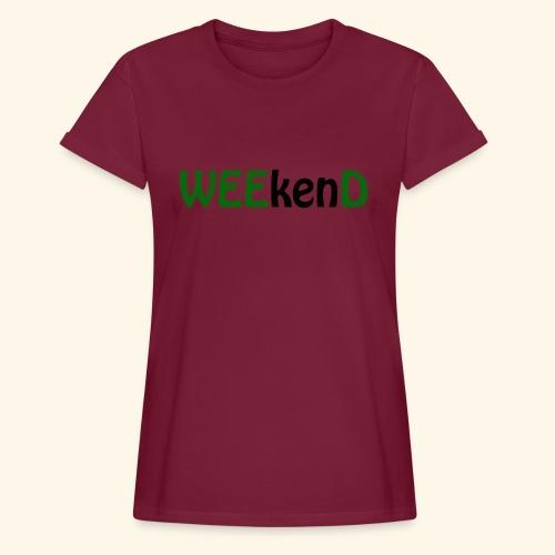 weed - Frauen Oversize T-Shirt