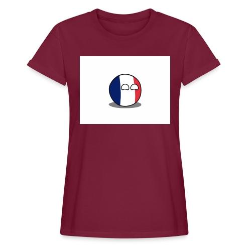 France Simple - T-shirt oversize Femme