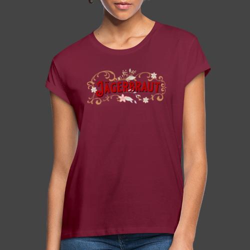 Jägerbraut - original Jägershirt - Frauen Oversize T-Shirt