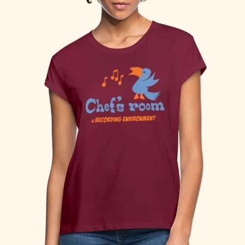 chefs room - Naisten oversized-t-paita